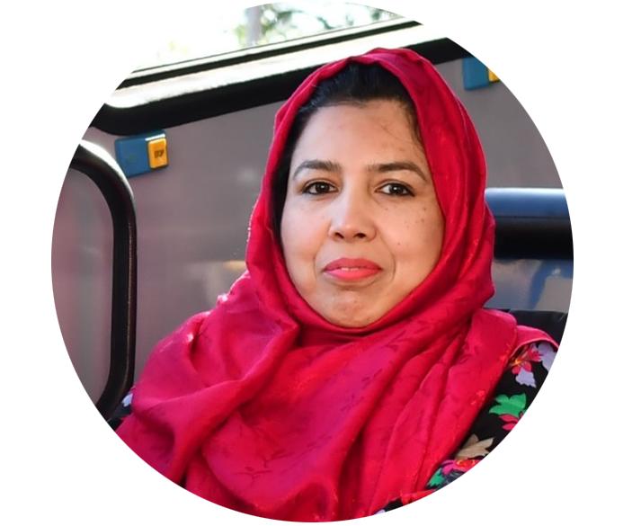 Saira Ayub, Australia Awards scholar from Pakistan